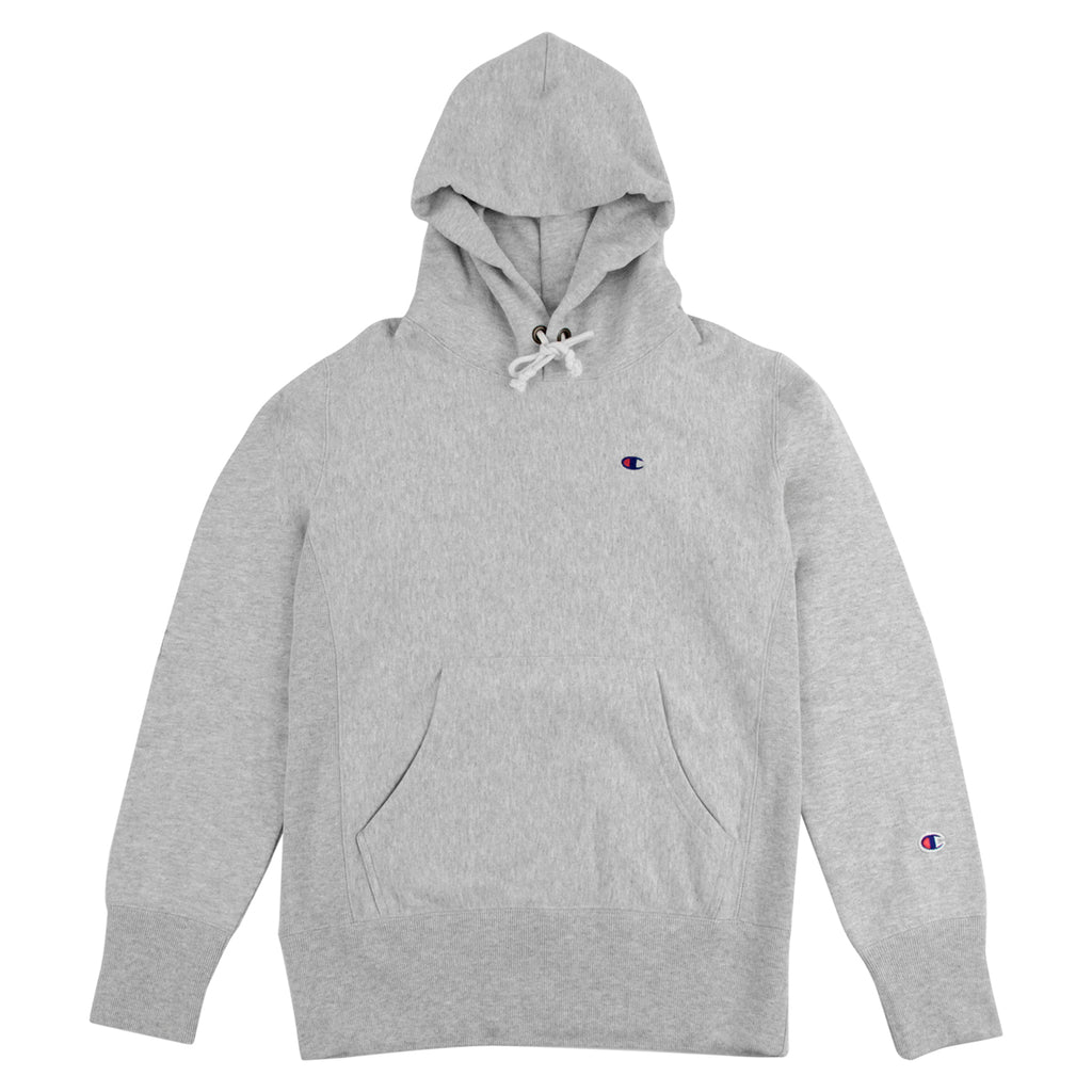 Champion Hooded Sweatshirt in Oxford Grey