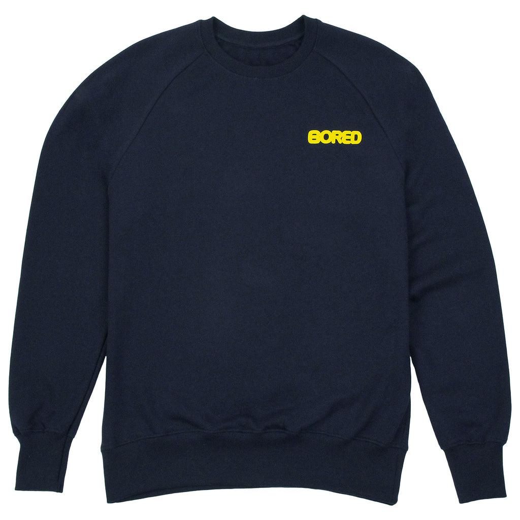 Bored of Southsea Bored Brigade Sweatshirt in Navy - Front