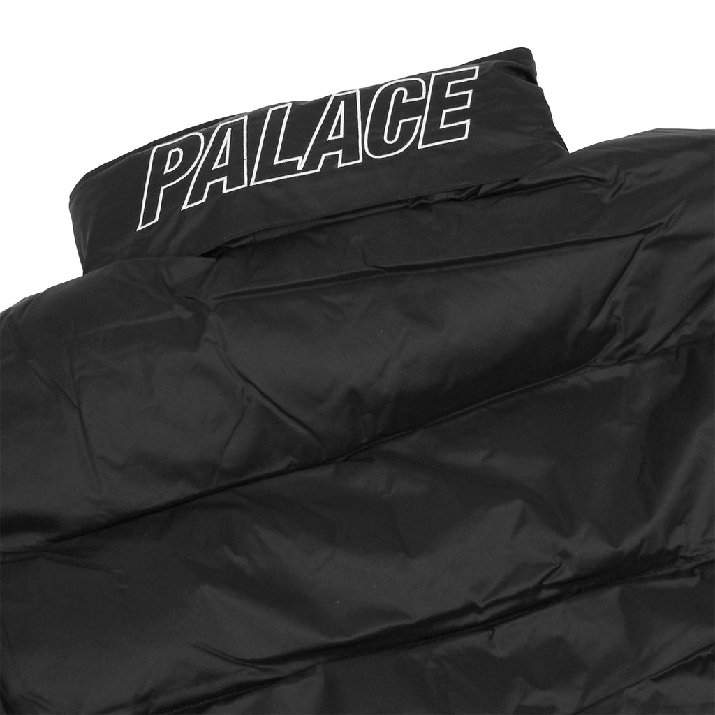 Palace Puffa Jacket in Anthracite - Detail 2