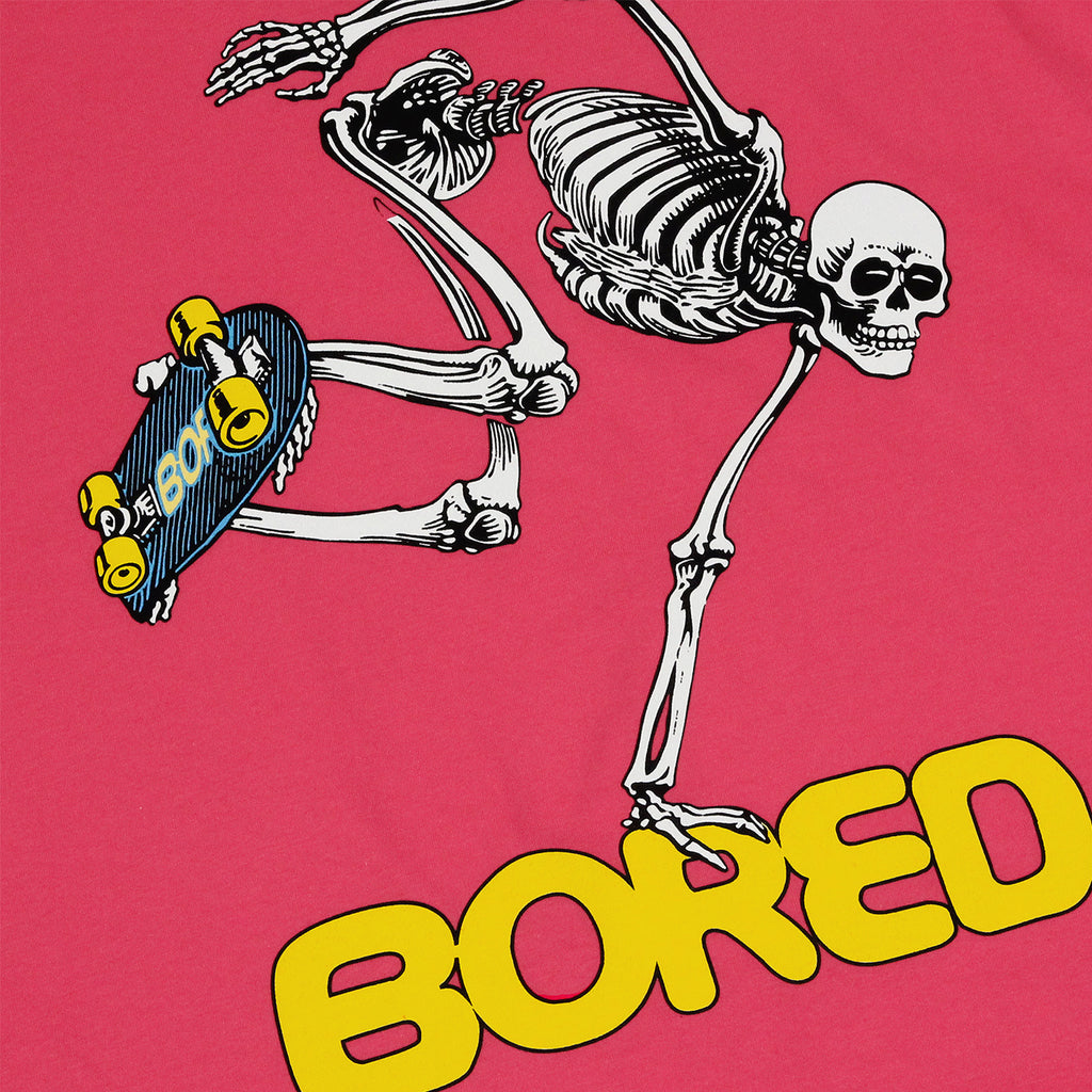 Bored of Southsea Bored Brigade T Shirt in Radical Pink
