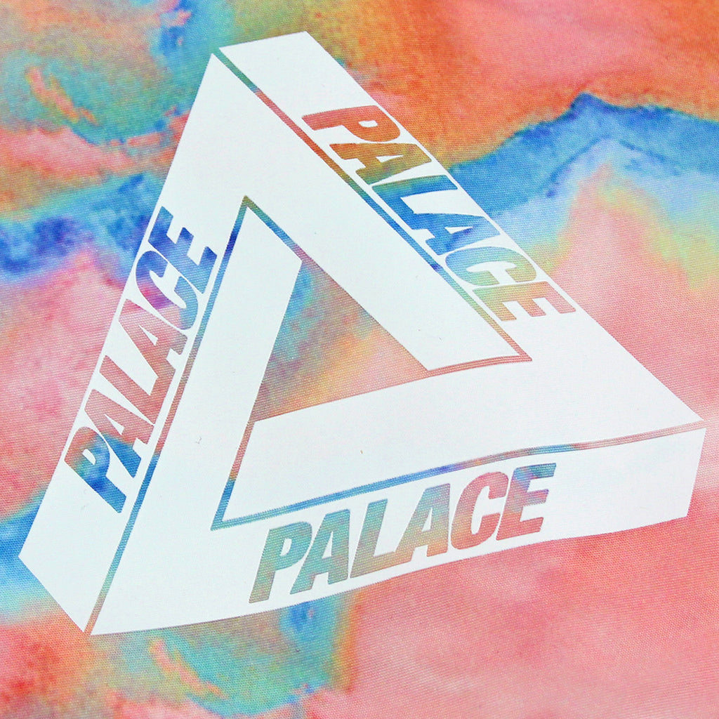 Palace x Adidas Hooded Bomber Jacket in Multi Colour / White - Tri Ferg