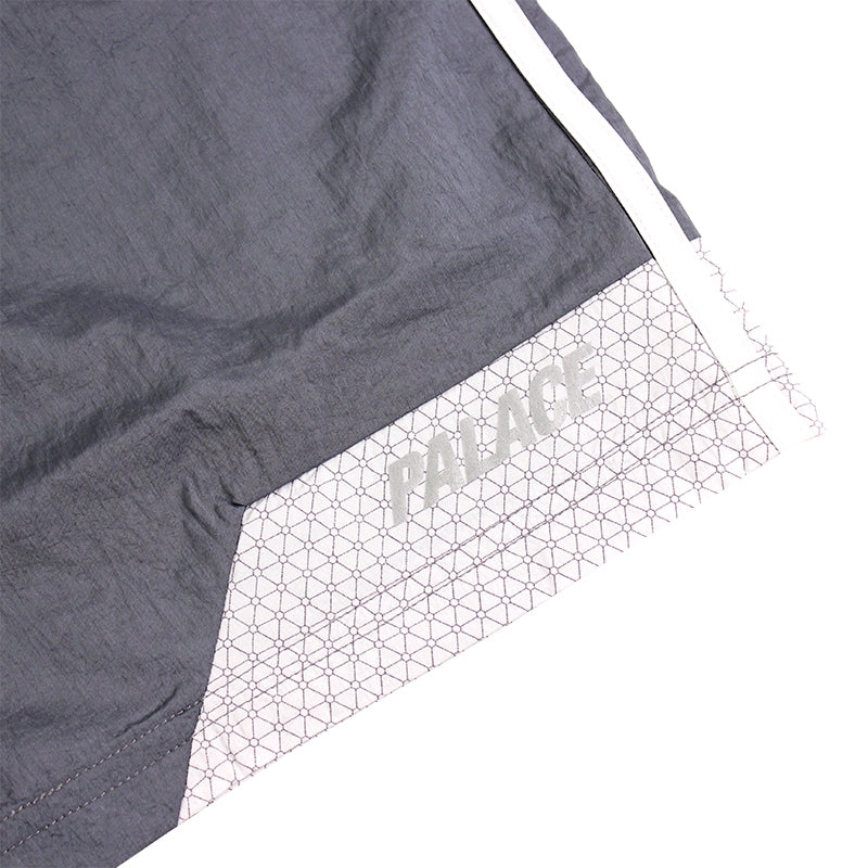 Palace x Adidas Shorts in Onix / White - Detail