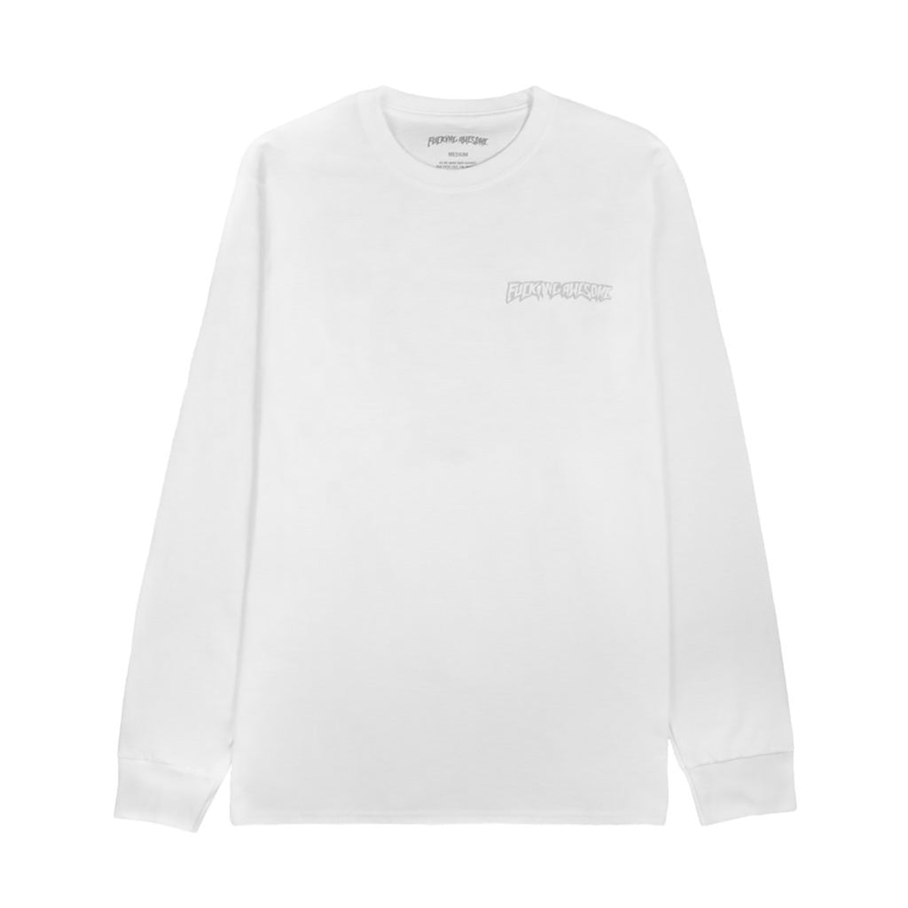 Fucking Awesome x Independent Trucks L/S Hostage T Shirt in White - Detail