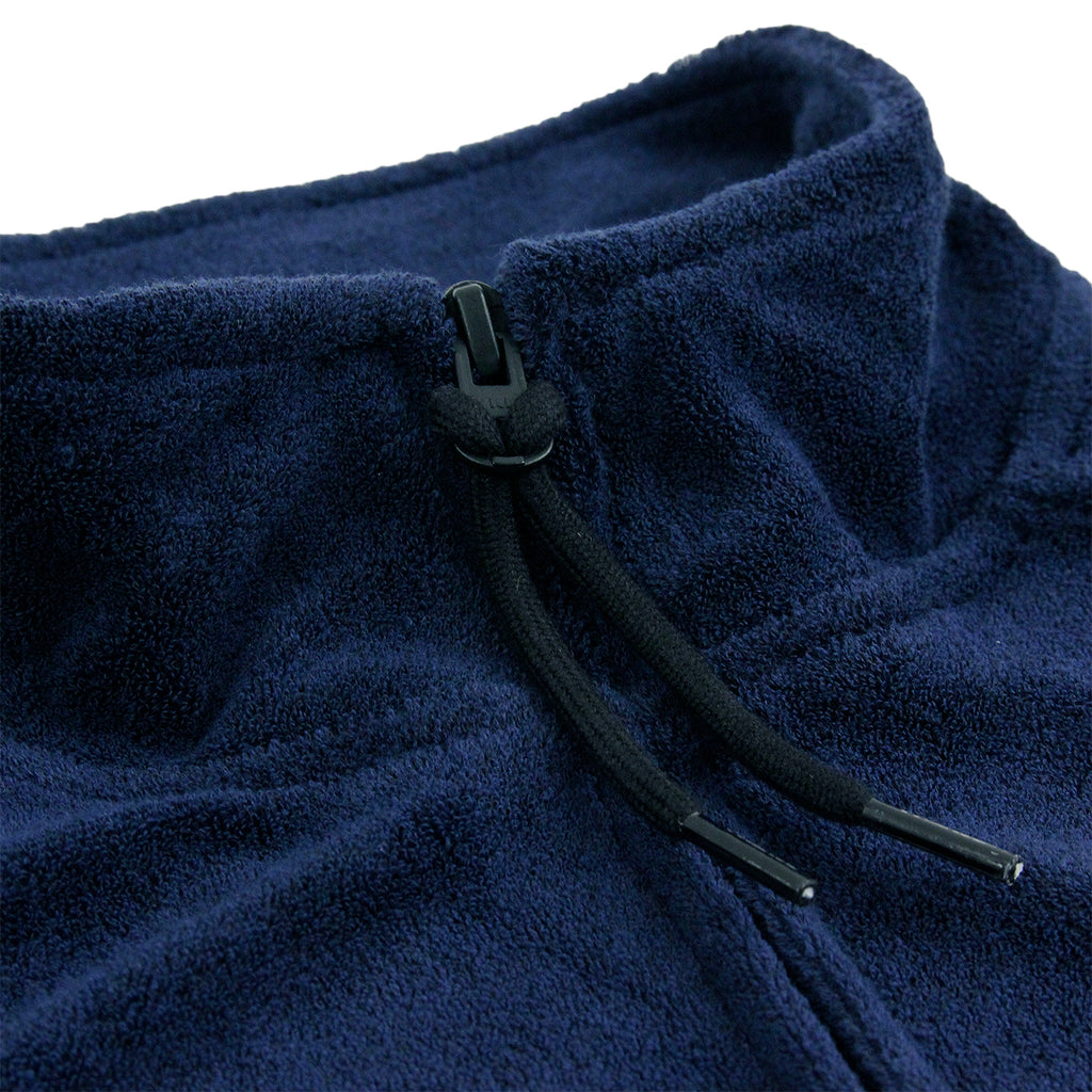 Palace x Adidas Towel Jacket in Night Indigo - Zip