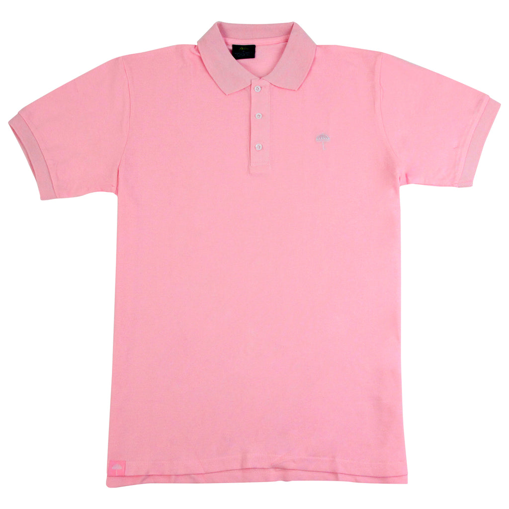 Helas Classic Polo Shirt in Pastel Pink
