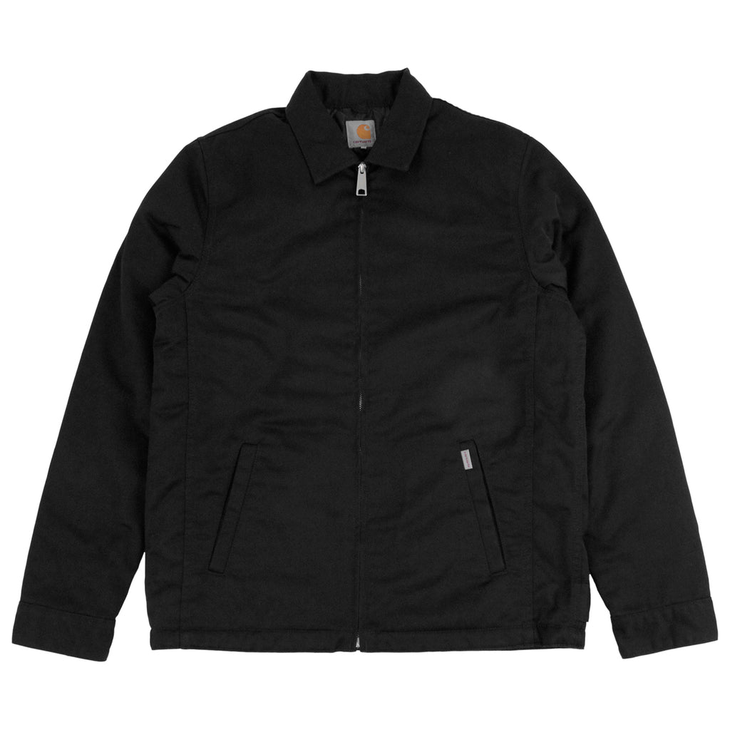 Carhartt Modular Jacket in Black Rinsed