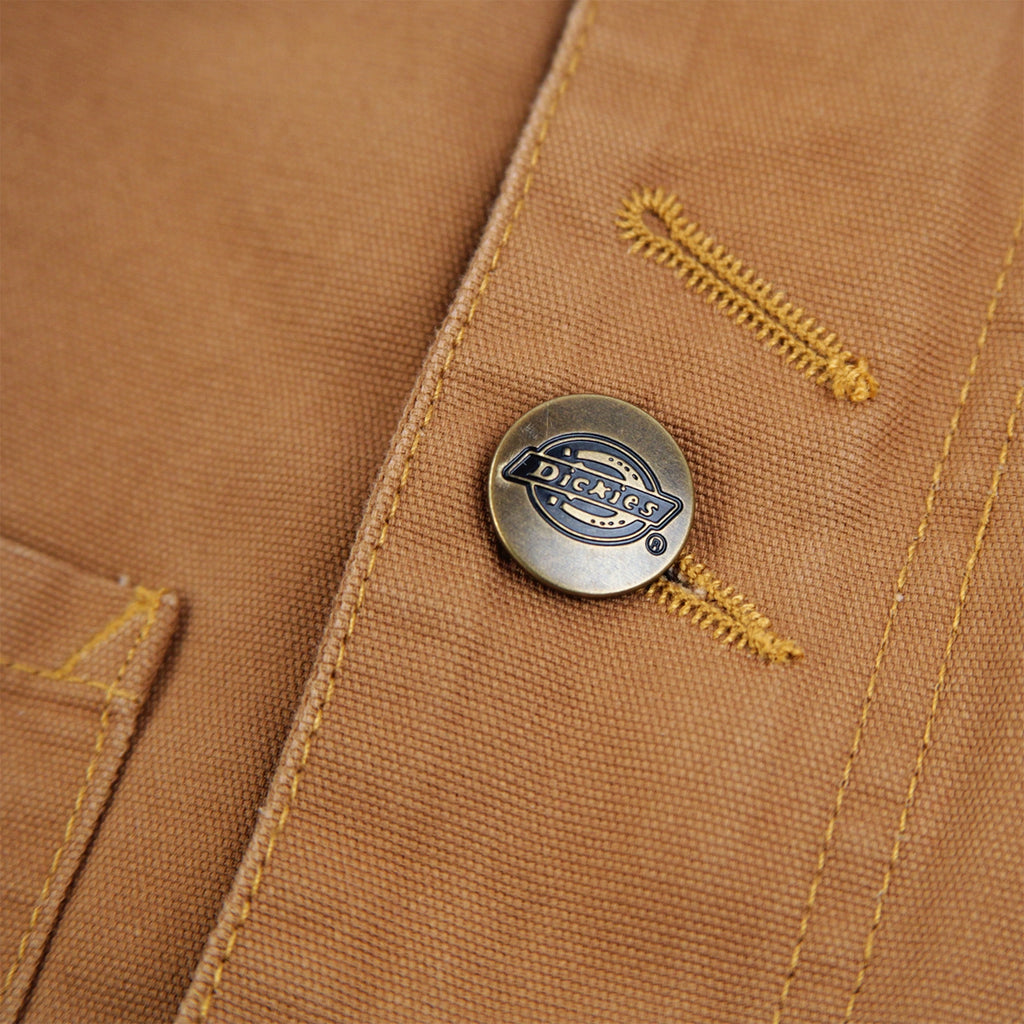 Dickies Norwood Jacket in Pecan - Button