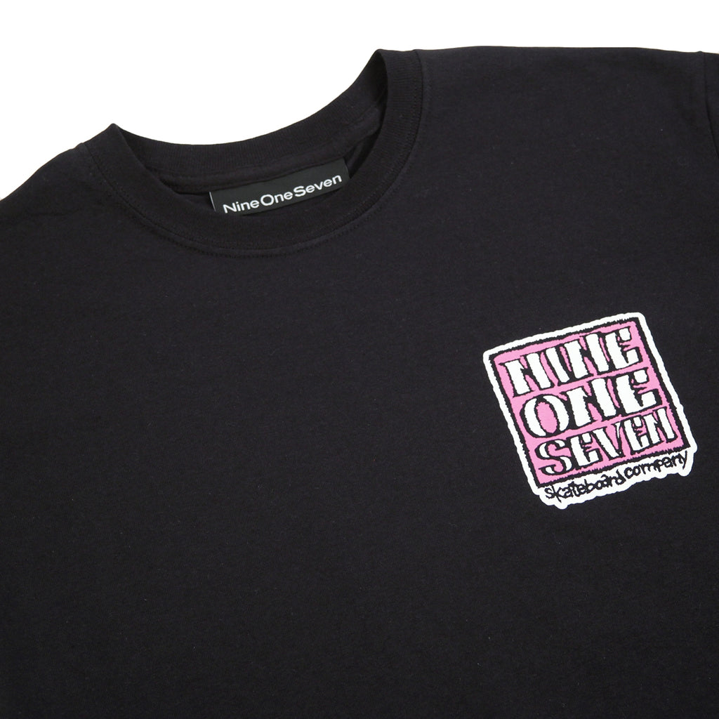 Call Me 917 Old Deal T Shirt in Black - Detail