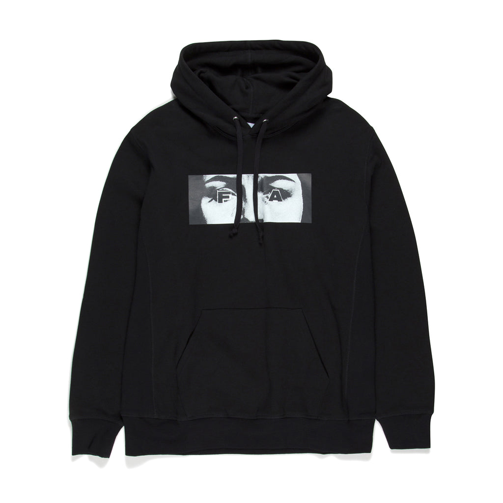 Fucking Awesome Eyes Hoodie in Black