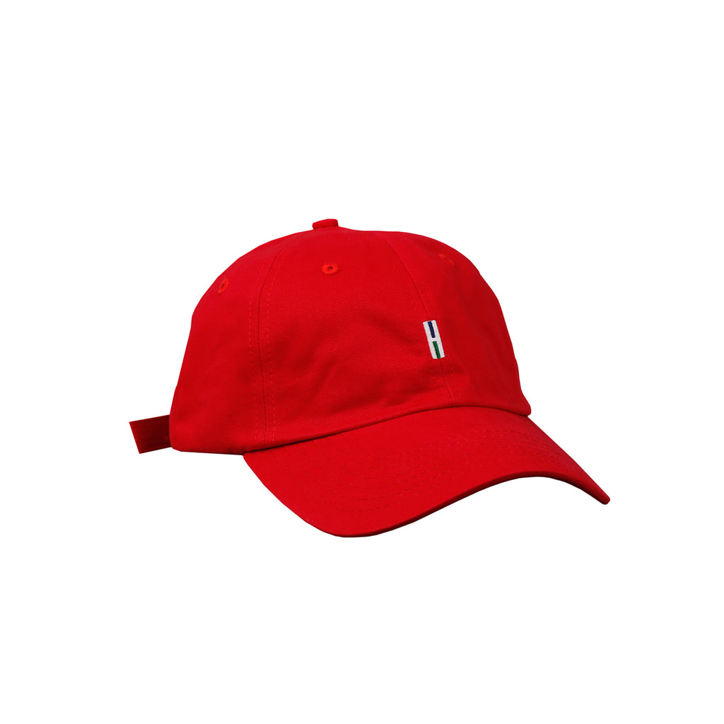 Helas H 6 Panel Cap in Red