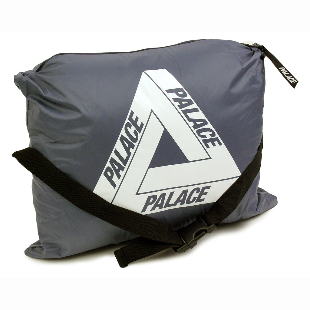 Palace Puffa Jacket in Blue Nights / Flinstone - Packed