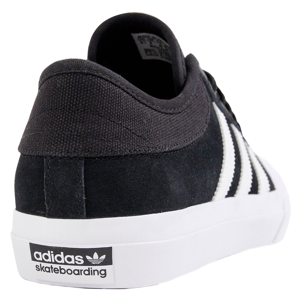 Adidas Matchcourt Shoes in Core Black / FTW White / FTW White - Heel