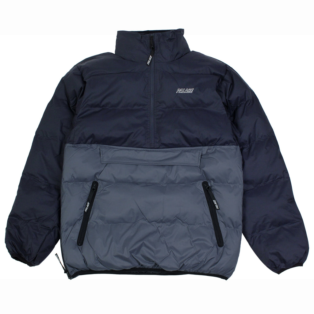 Palace Puffa Jacket in Blue Nights / Flinstone