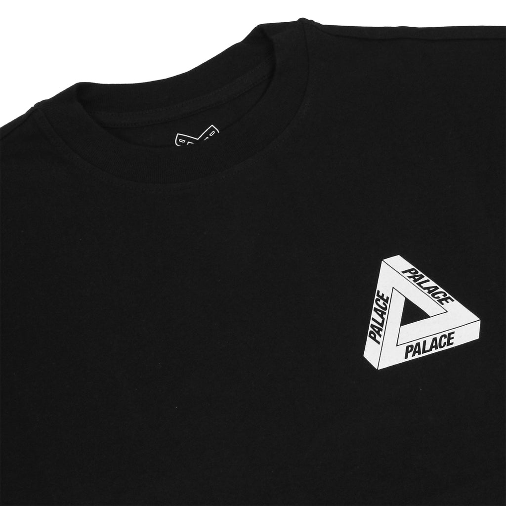 Palace Drury Brit T Shirt in Black - Detail