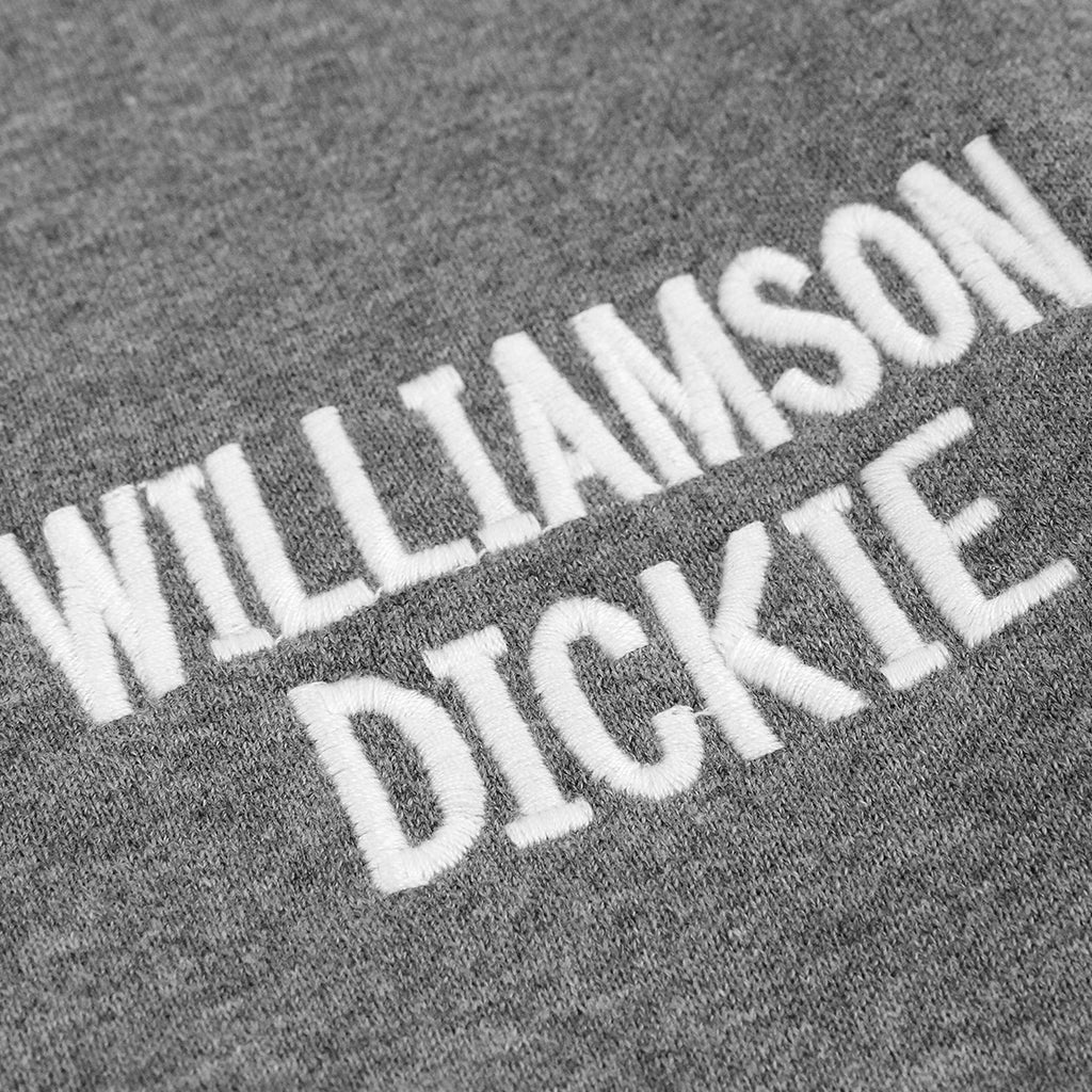 Dickies Port Edwards Crew in Grey - Embroidery