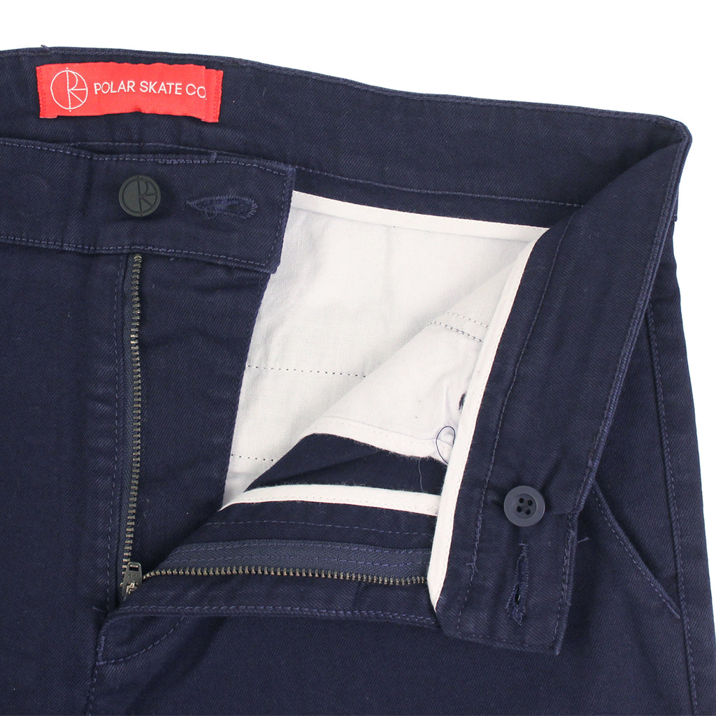 Polar Skate Co Default Chino in Navy - Unzipped
