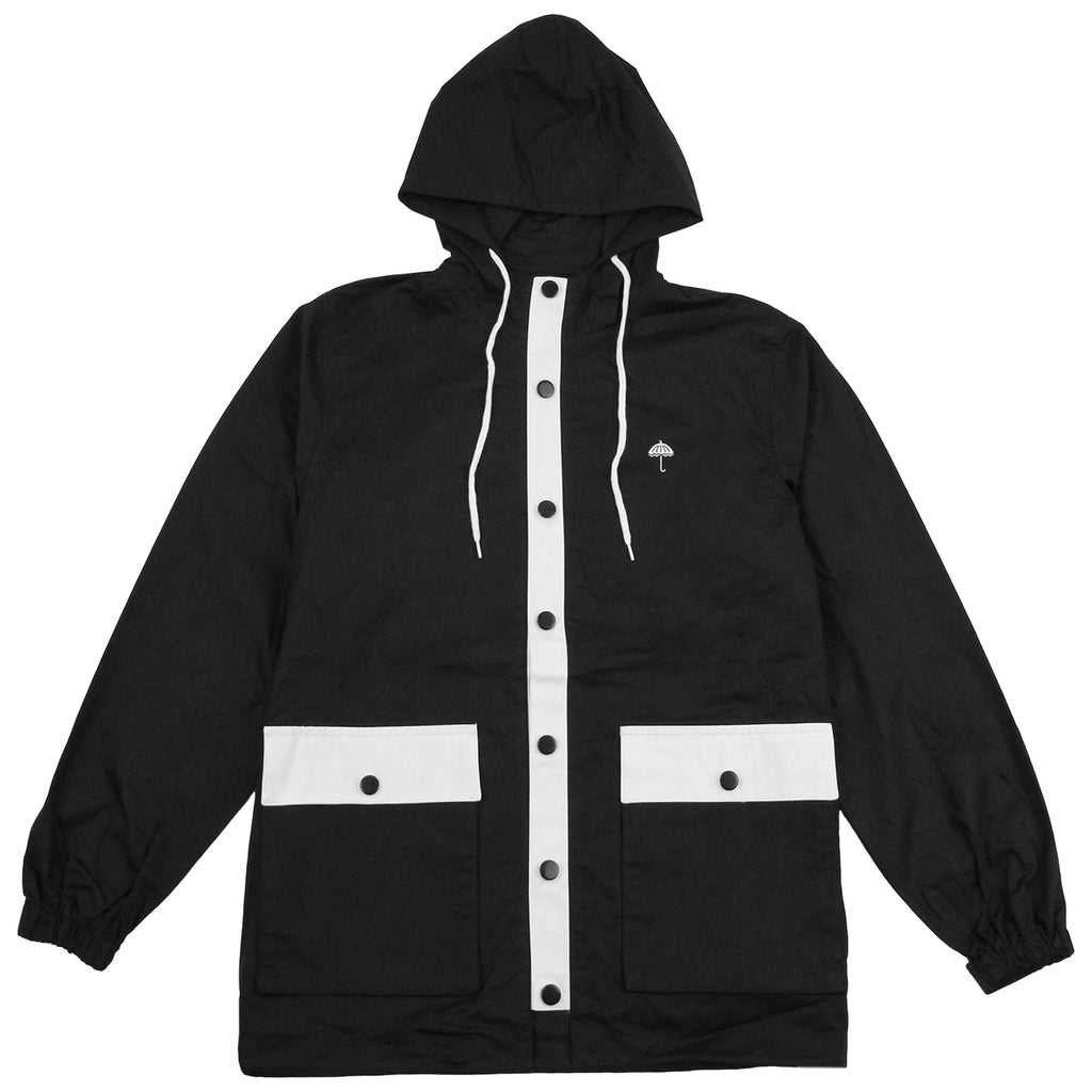 Helas Badman Hooded Coach Jacket in Black