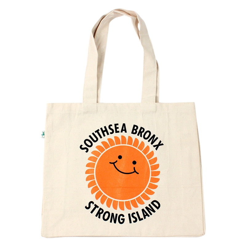 Southsea Bronx Strong Island Shopper Bag in Natural