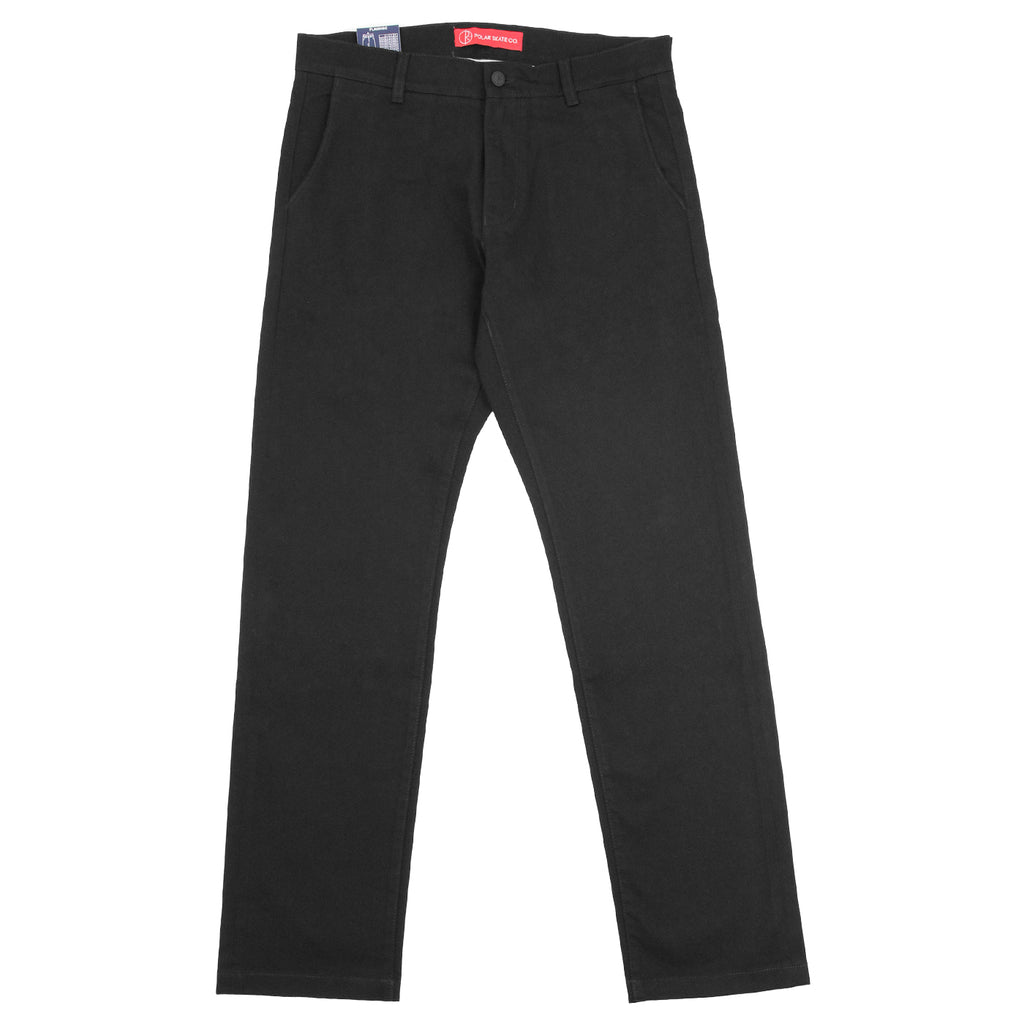 Polar Skate Co Flamingo Chino in Black - Open