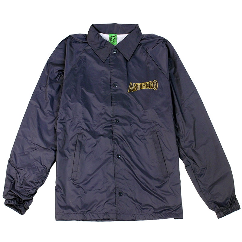 Anti Hero Skateboards Dumping Luck Coaches Jacket in Navy