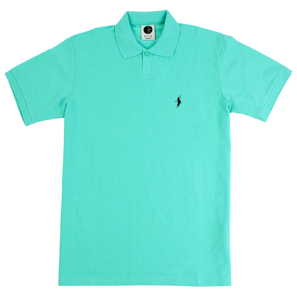 Polar Skate Co No Comply Pike T Shirt in Pastel Green / Navy