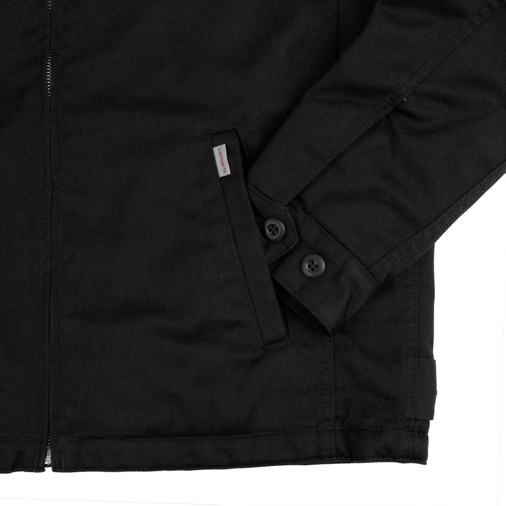 Carhartt Modular Jacket in Black Rinsed - Pocket