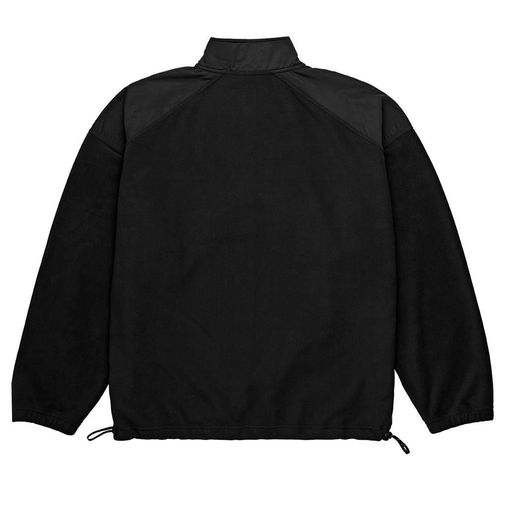 Polar Skate Co Light Fleece Pullover in Black - Back