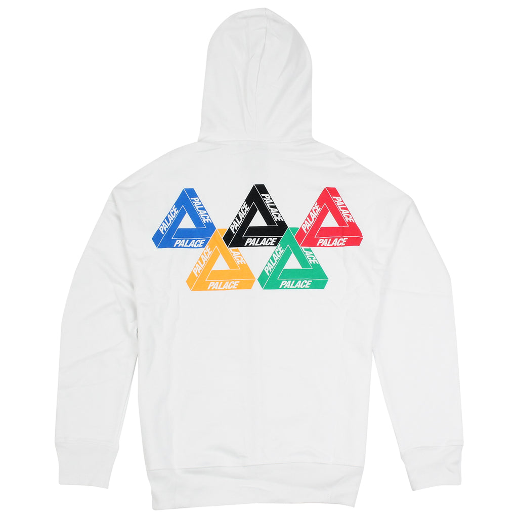 Palace Performance Zip Hood in White