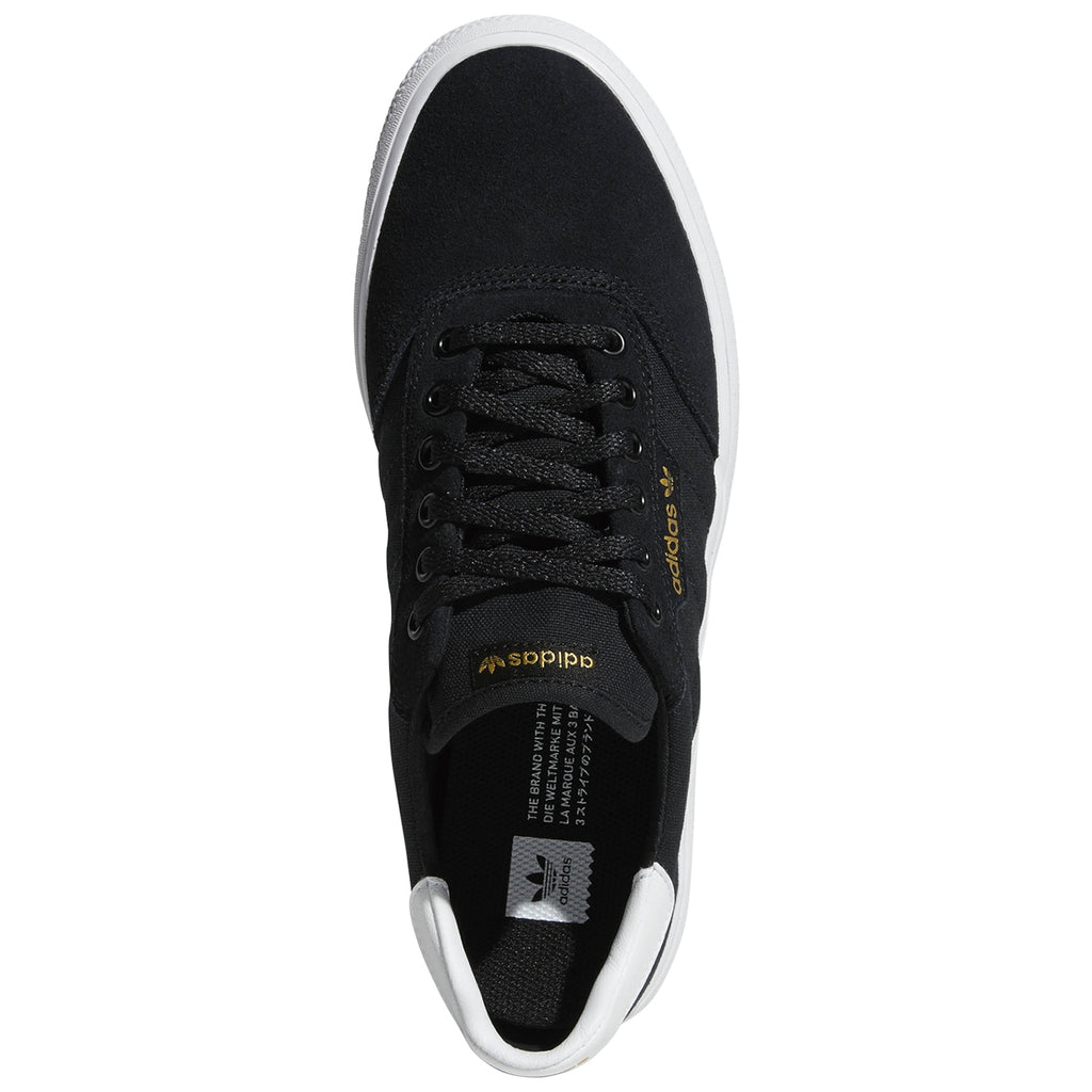 Adidas 3MC Shoes in Core Black / Footwear White / Core Black - Top