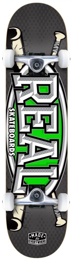 Real Skateboards Slugger Complete Skateboard in 8""