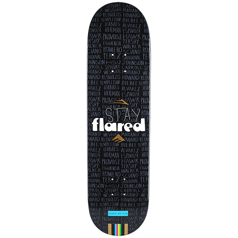 Girl Skateboards Lakai x Emerica Stay Flared Deck in 8.25""