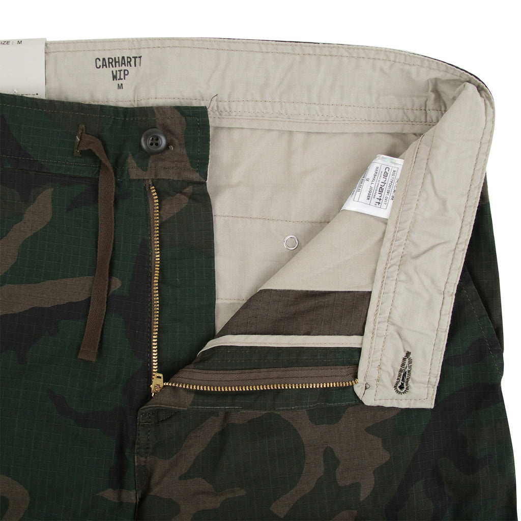 Carhartt Marshall Jogger in Camo Combat Green - Unzipped