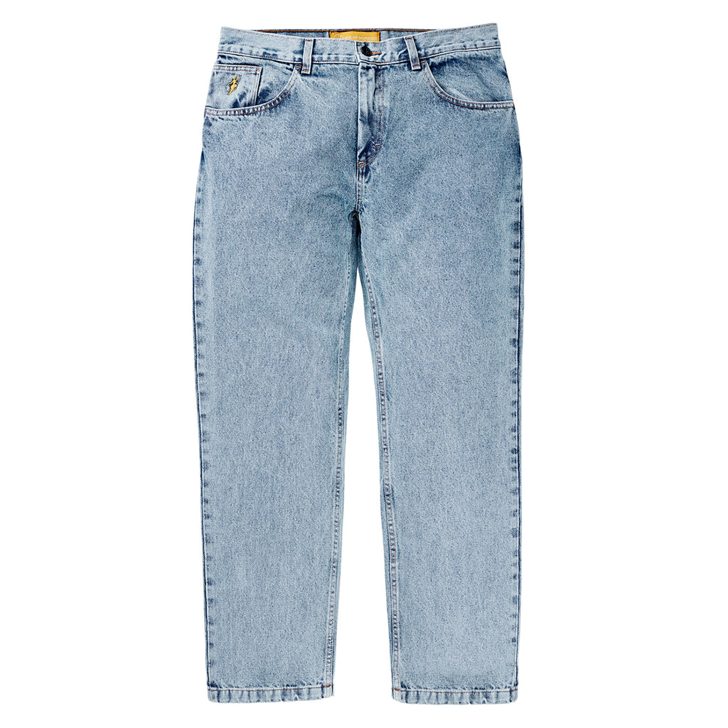 Polar Skate Co 90's Jeans in Light Blue - Front