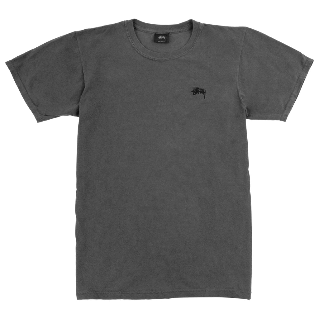 Stussy Small Stock Dyed T Shirt in Black