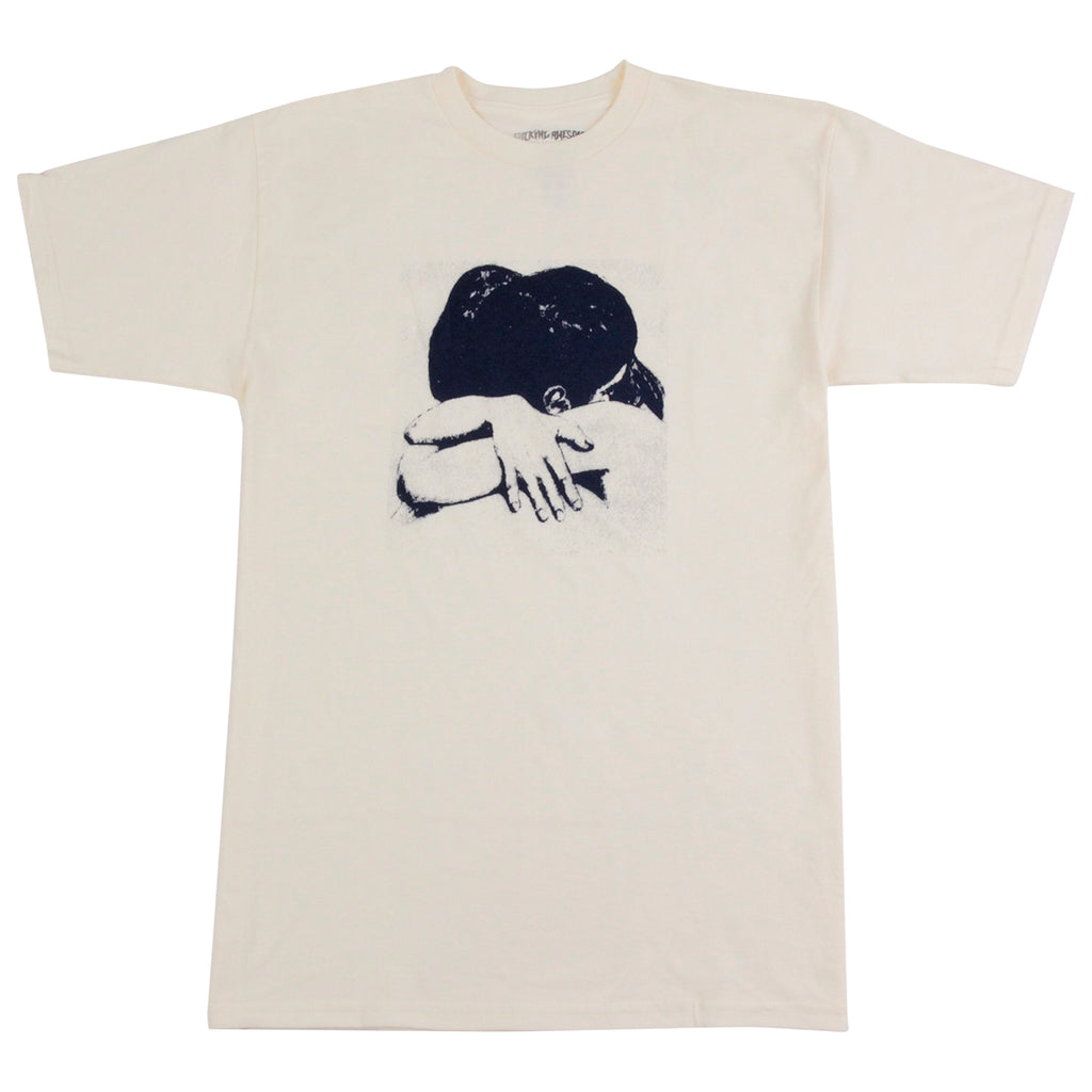 Fucking Awesome Embrace T Shirt in Cream