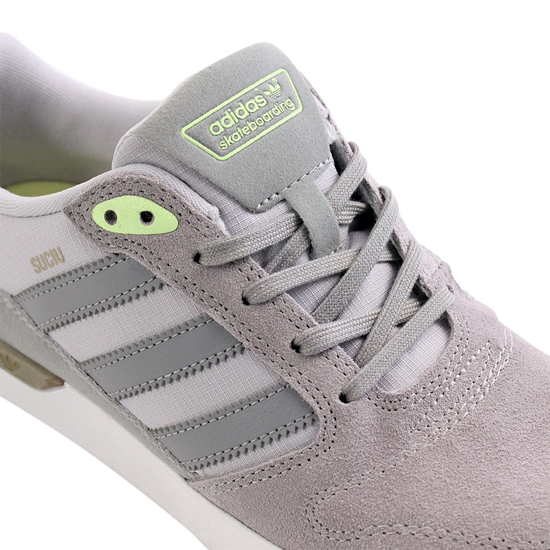 Adidas Skateboarding ZX Vulc Mark Suciu Shoes in Solid Grey/Light Onyx - Detail
