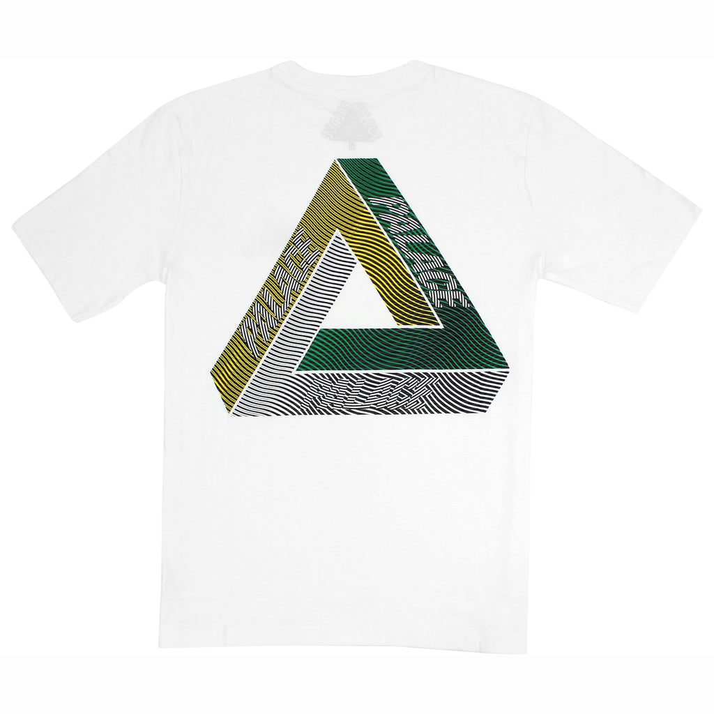 Palace Drury Yard T Shirt in White