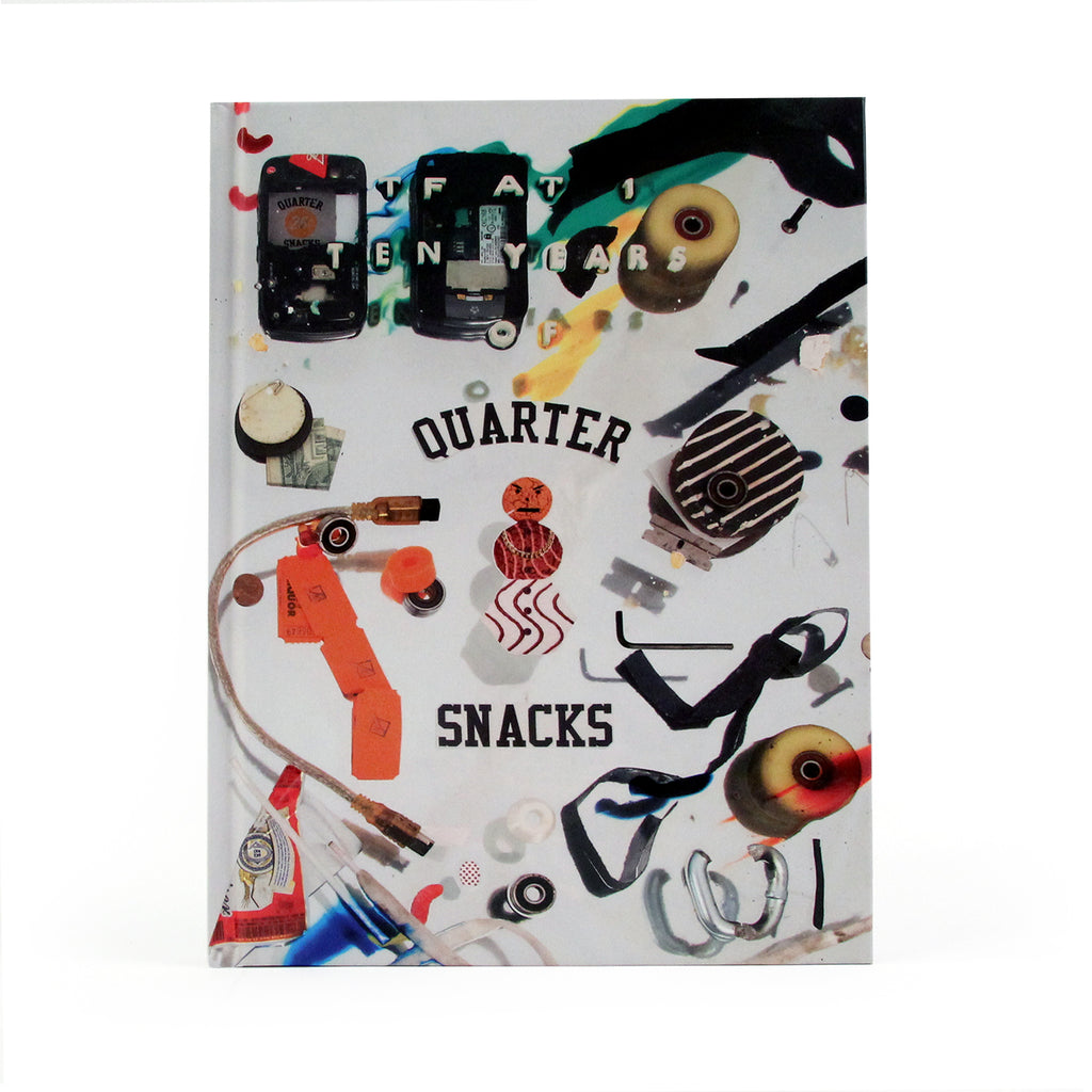 Quartersnacks TF At 1: Ten Years of Quatersnacks Book - Front