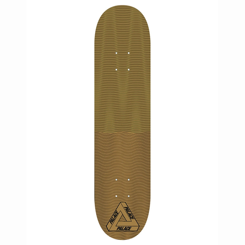 Palace Trippy Stick Gold Deck in 8""