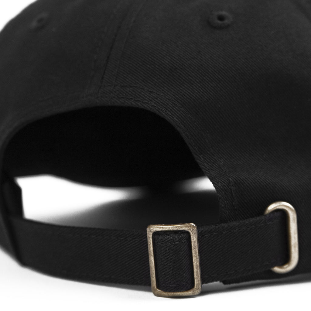 Stussy Stock Low Pro Cap in Black - Strap