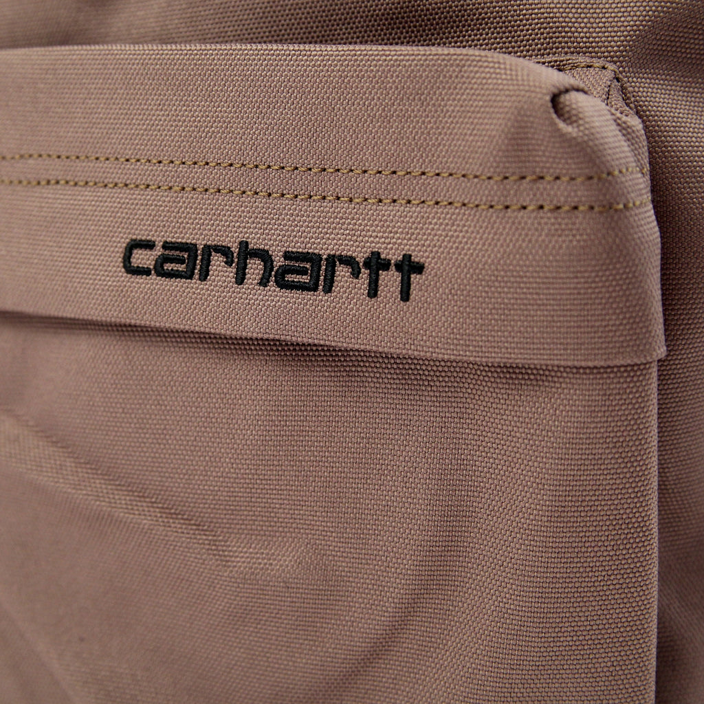 Carhartt Payton Backpack in Brass / Black - Embroidery