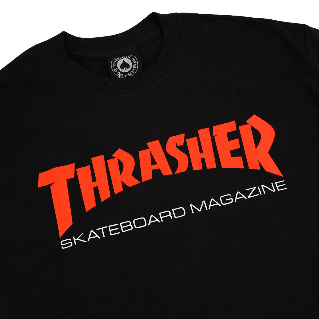 c69ca4c55 Two Tone Skate Mag T Shirt in Black by Thrasher | Bored of Southsea