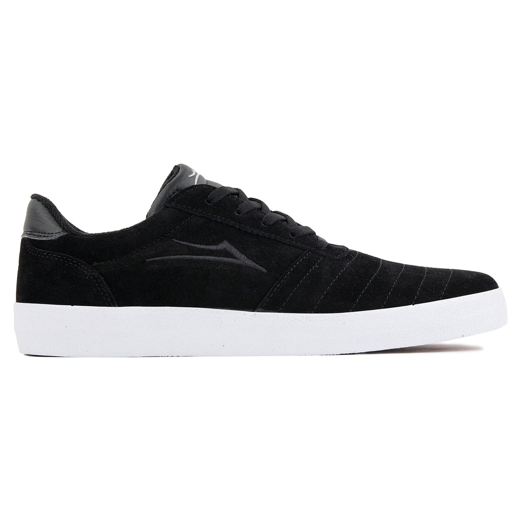 Lakai Anchor Salford Shoes in Black Suede