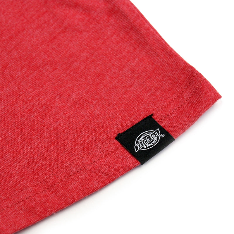 DICKIES GILROY T SHIRT RED - Hem label