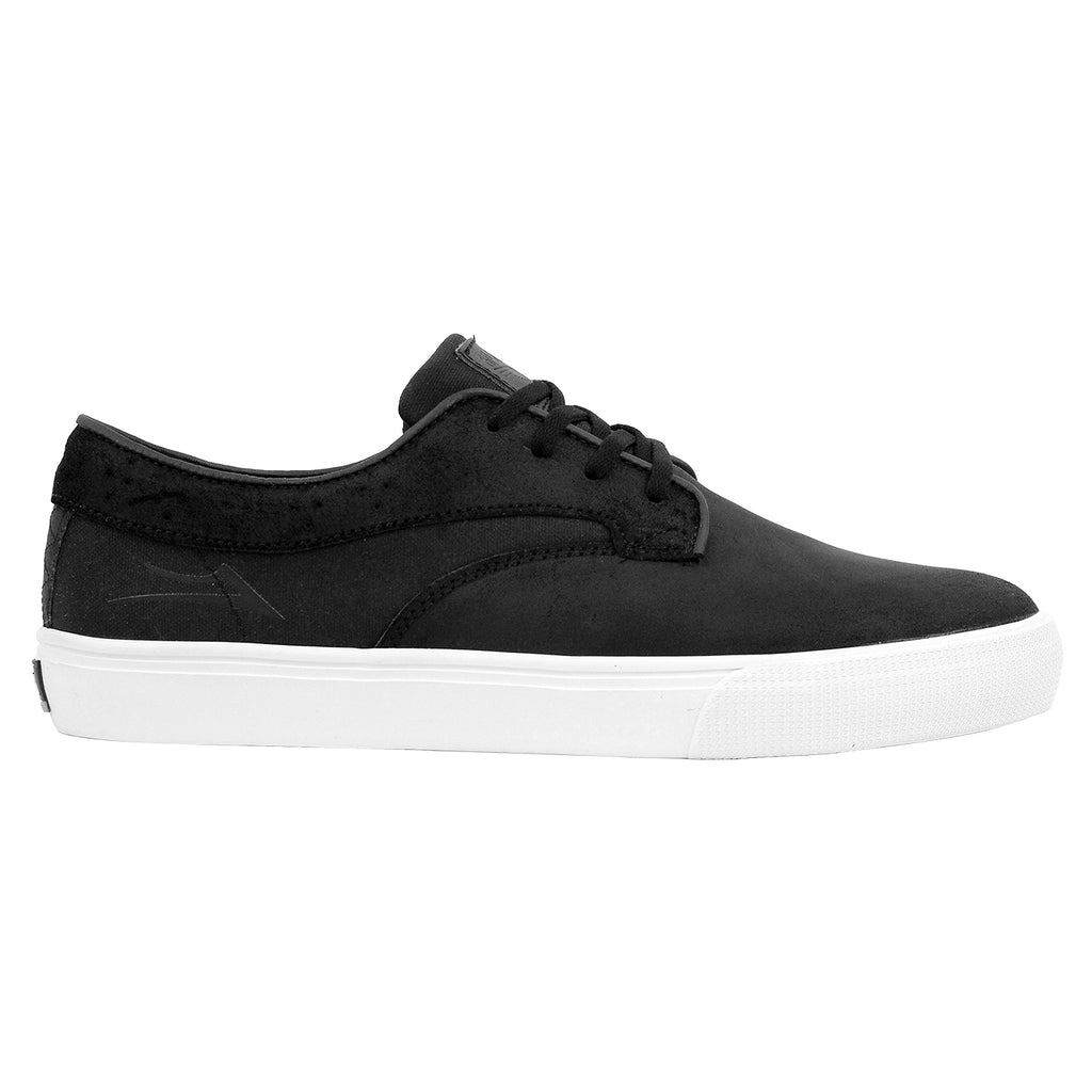 Lakai Riley Hawk Oiled Suede Shoes in Black