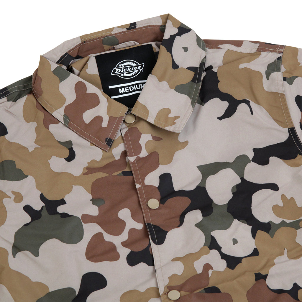 Dickies Torrance Jacket in Sand Camo - Detail