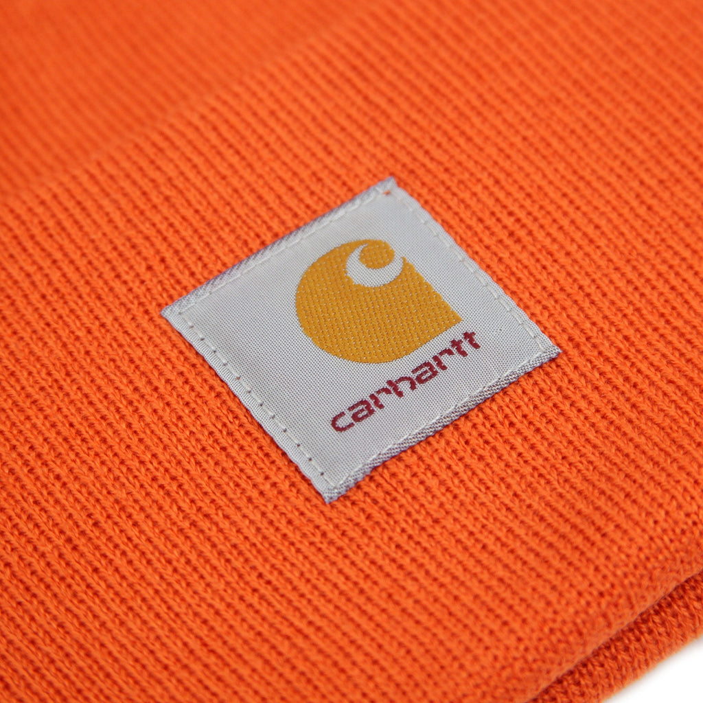 Carhartt Watch Hat in Persimmon - Label