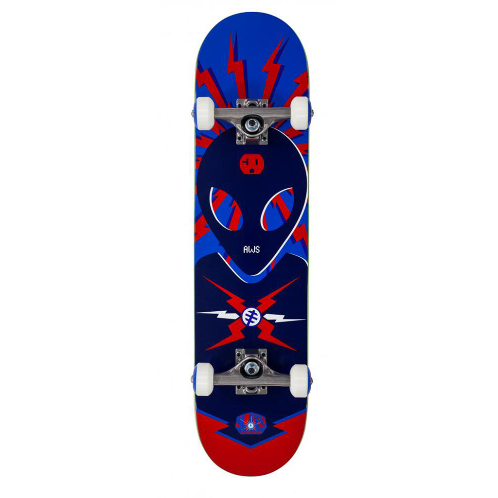 Alien Workshop OG Voltage Blue Complete Skateboard Deck in 7.625""
