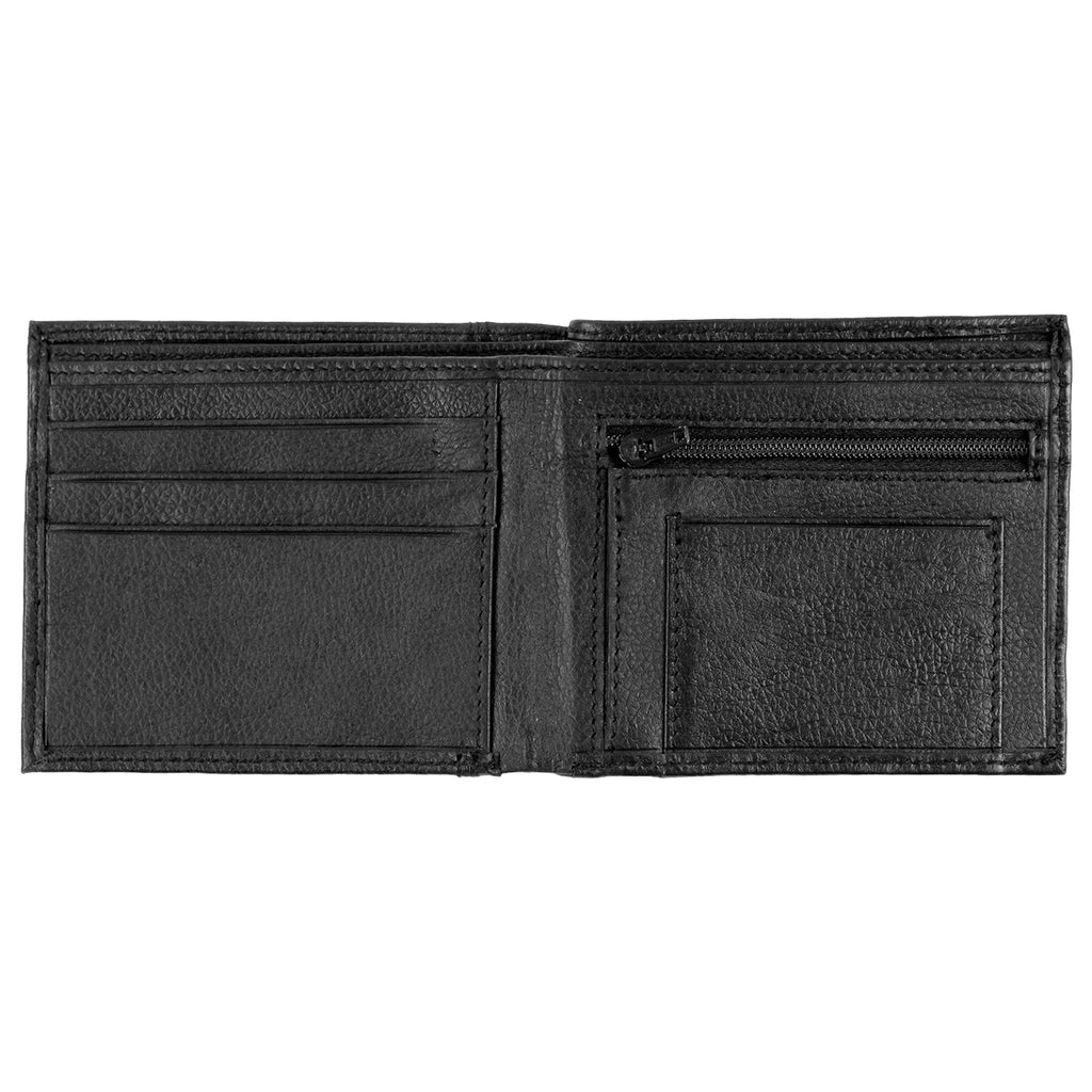 Dickies Ottawa Lake Wallet in Black - Open