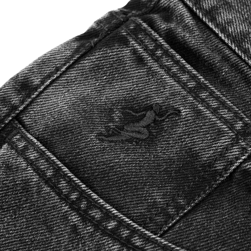 Polar Skate Co 90's Jeans in Black - Embroidery